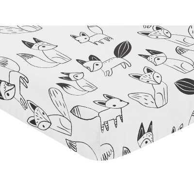 Fox Fitted Crib Sheet - Wayfair