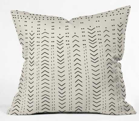"Iveta Abolina Mud Cloth Inspo VIII, 18""x18"", WITH INSERT - Wander Print Co."