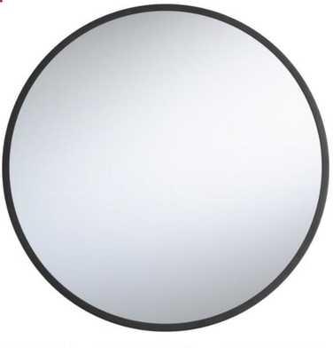 Round Black Sana mirror - World Market/Cost Plus