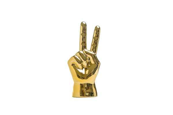 Alani Peace Sign Table Sculpture - Wayfair