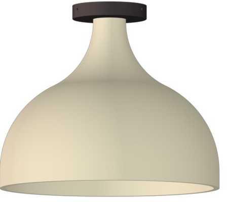 FOLK Abigail Large Soft Cone Semi-Flush - Rejuvenation