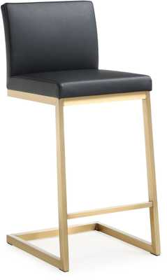 Myla Black Lilly Steel Counter Stool (Set of 2) - Maren Home