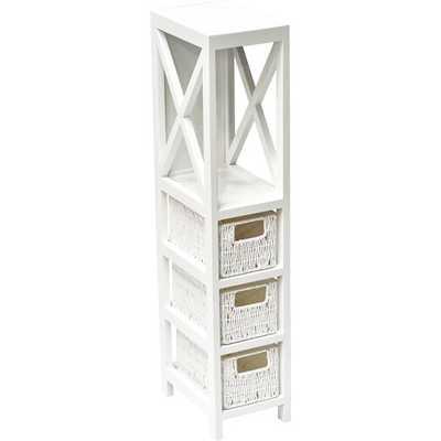 Wooden 3 Drawer Storage Chest - Wayfair