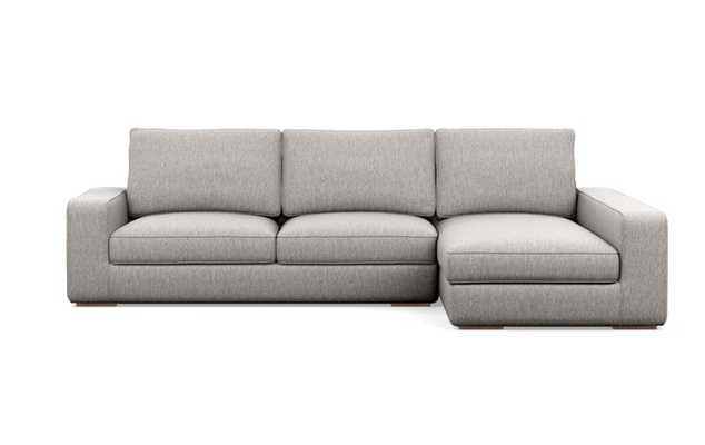 AINSLEY Sectional Sofa with Right Chaise - Earth - Interior Define