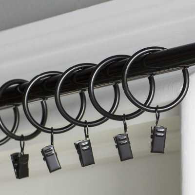 Wayfair Basics Curtain Ring (Set of 7) - Wayfair