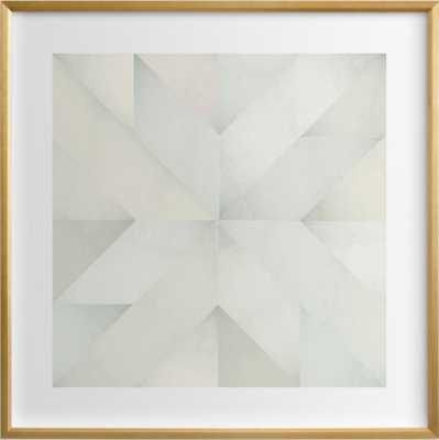 quilt block 03 - greensping 16 x 16 - Minted