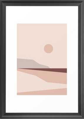 Abstract Landscape 02 Framed Art Print - Society6
