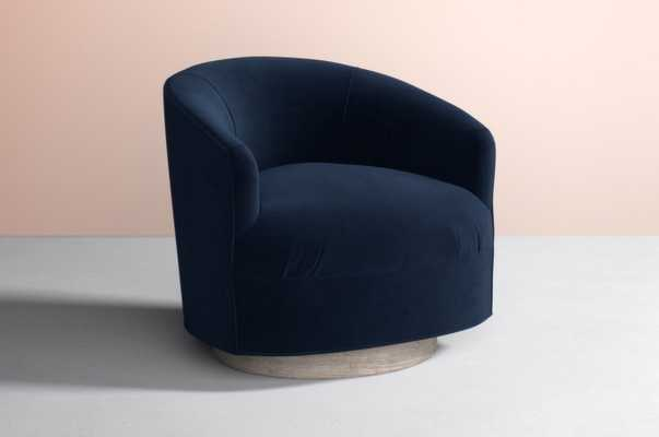 Amoret Swivel Chair - Anthropologie