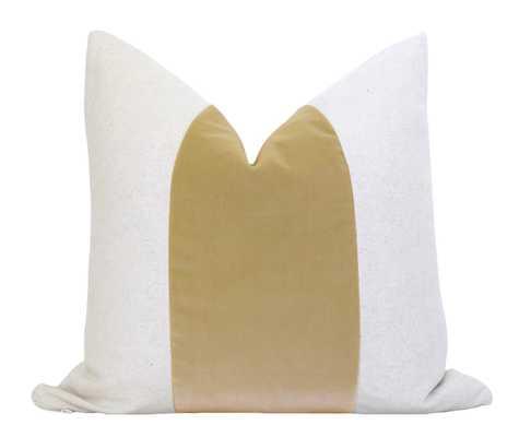 Mezzo Pillow Cover - Almond - Willa Skye