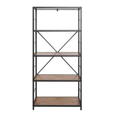 Macon Etagere Bookcase, Rustic Oak - Birch Lane