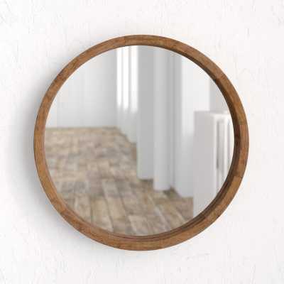 Loftis Round Modern & Contemporary Accent Mirror - Wayfair