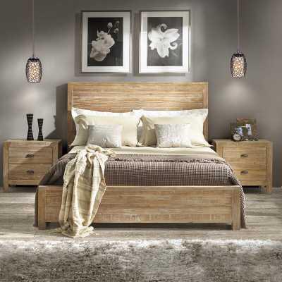 Montauk Solid Wood Bed - Queen - Wayfair