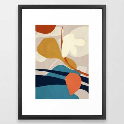 Abstract Art 44 Framed Art Print by ThingDesign - Society6