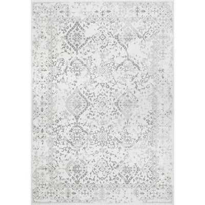 Youati Ivory/Gray Area Rug - 8' x 10' - Wayfair