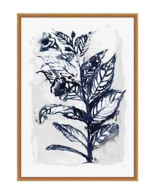 INDIGO BOTANICAL 2 Framed Art - McGee & Co.