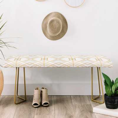 Faux Leather Bench - Wayfair