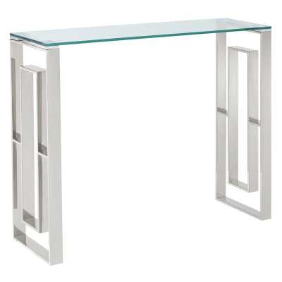 Menzel Stainless Steel Console Table - Wayfair