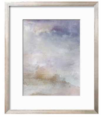 """Escaping Light II in Siena Silver 0.75"""" Frame - 12x16 - art.com"""