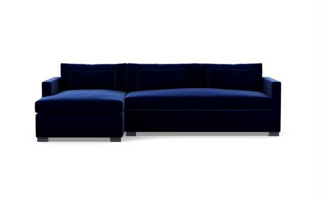CHARLY SLEEPER Sleeper Sectional Sofa with Left Chaise - Interior Define