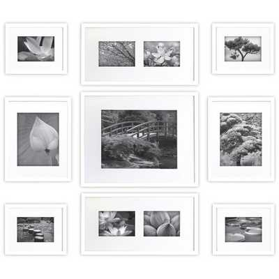 Gallery Perfect 9 Piece Picture Frame Set - Birch Lane