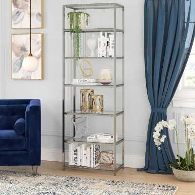 Emely Etagere Standard Bookcase - Wayfair