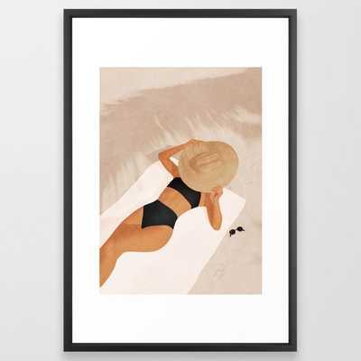 """That Summer Feeling II Framed Art Print 26"""" x 38"""" - Society6"""