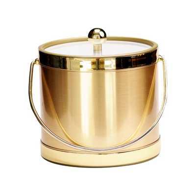 Deantrei Brushed Ice Bucket - Wayfair