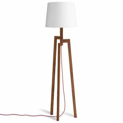 "Blu Dot Stilt Wooden 65.5"" Tripod Floor Lamp - Wayfair"