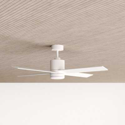 "52"" Malta 4 Blade Ceiling Fan with Remote, Light Kit Included - AllModern"