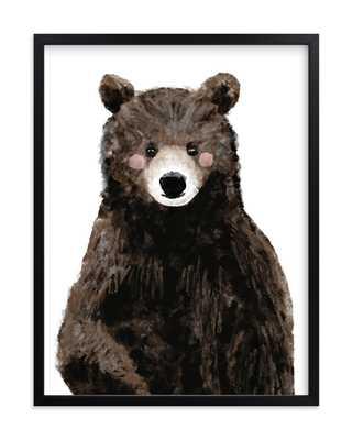 "Baby Animal Bear - 16 x 20"" - Minted"