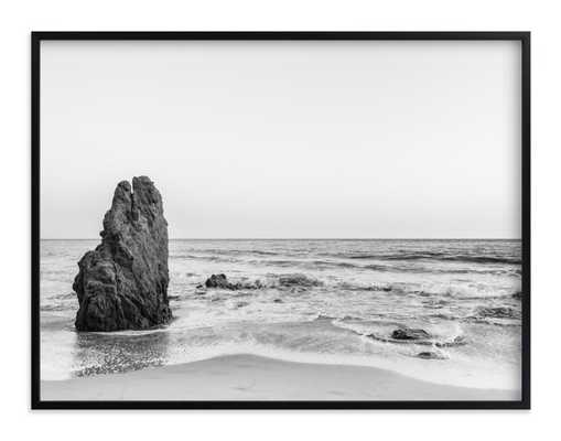 "malibu view no. 2 - 40""x30"" - Classic Black Frame - Minted"