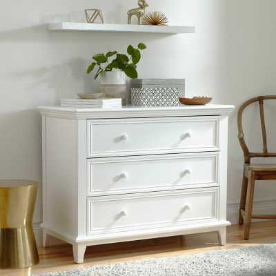 Kolcraft 3 Drawer Standard Dresser White - Wayfair