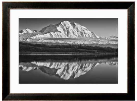 USA, Alaska, Denali, Mt. Mckinley from Wonder Lake - art.com