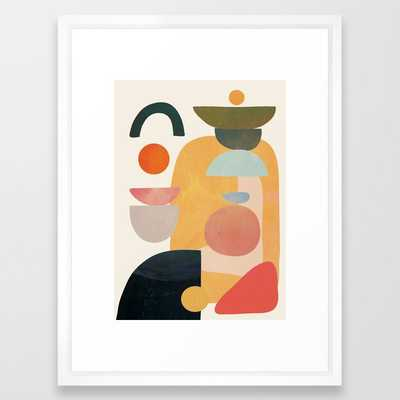 Modern Abstract Art 70 Framed Art Print - Society6