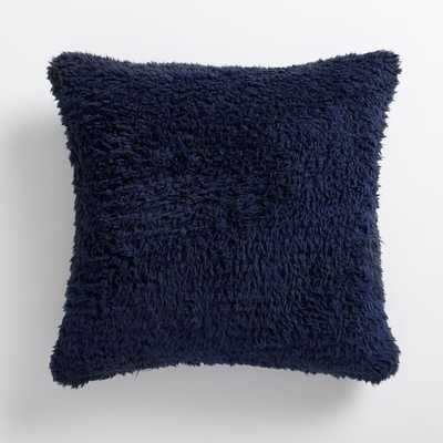 Cozy Recycled Sherpa Pillow Cover - Pottery Barn Teen