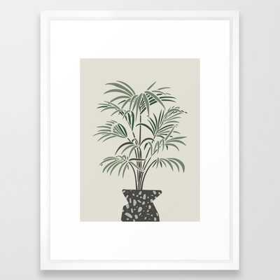 Scandinavian Mid Century Pot - Vector White - Society6