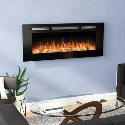 Iserman Wall Mounted Electric Fireplace - Wayfair