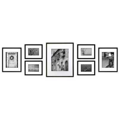Abner 7 Piece Perfect Wall Picture Frame Set - Wayfair