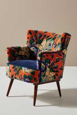 Velvet Tanya Petite Accent Chair - Anthropologie