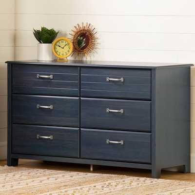 Asten 6 Drawer Double Dresser - Wayfair