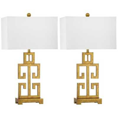 "Gravenhurst Greek 29"" Table Lamp - set of 2 - Wayfair"