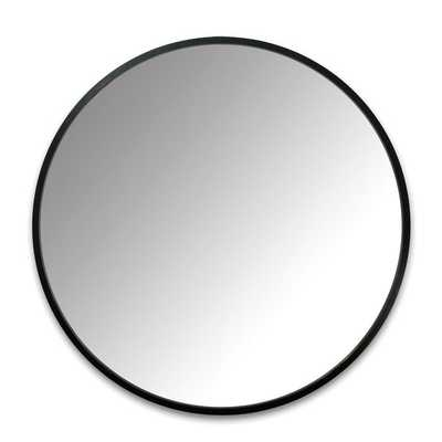 "Hub Modern and Contemporary Accent Mirror - 24"" - Wayfair"