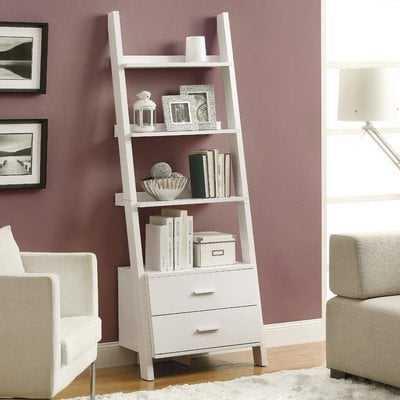 Antoninus Ladder Bookcase - Wayfair
