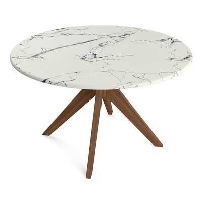 Grafton Faux Marble Dining Table - AllModern