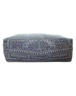 BATIK RECTANGLE POUF - McGee & Co.