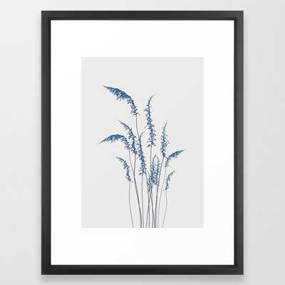 Blue flowers 2 Framed Art Print - Society6