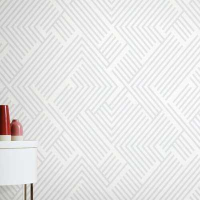 "Leanne Perplexing 20.5' L x 16.5"" W Peel and Stick Wallpaper Roll (68 sq ft $1.06/sq ft)) - Wayfair"