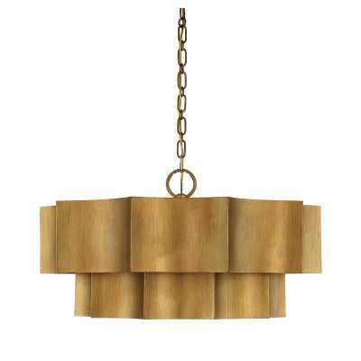 Henault 6 - Light Single Tiered Pendant - Wayfair