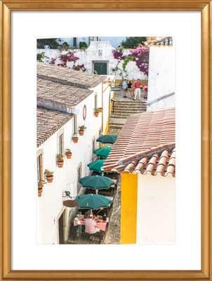Obidos, Portugal Print - 20x28 framed - Artfully Walls