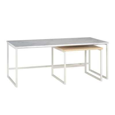 Scarlett 2 Piece Nesting Tables - Wayfair